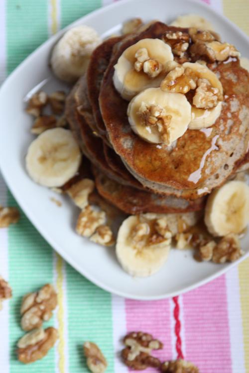 Glutenfreie Protein Pancakes vegan zuckerfrei
