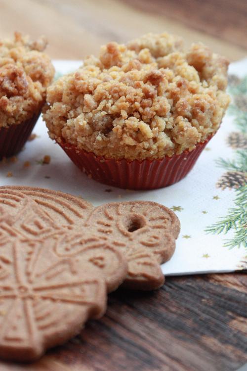 Spekulatius-Apfel-Muffins vegan