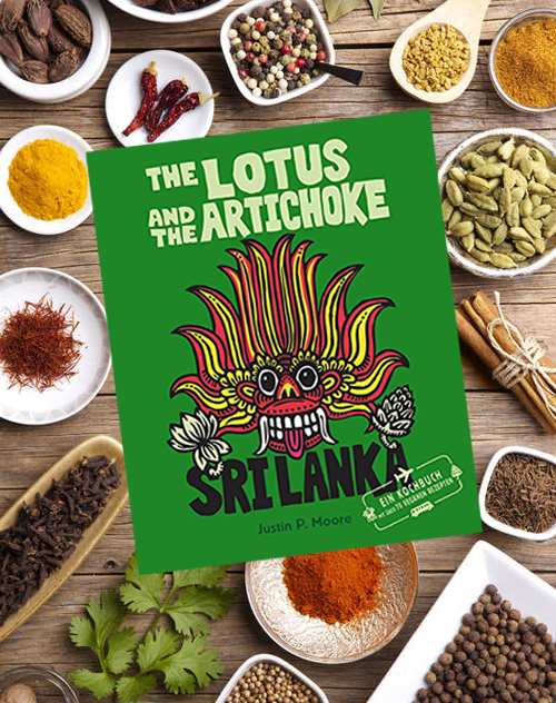 The Lotus and the Artichoke – Sri Lanka! – Buchrezension und Gewinnspiel