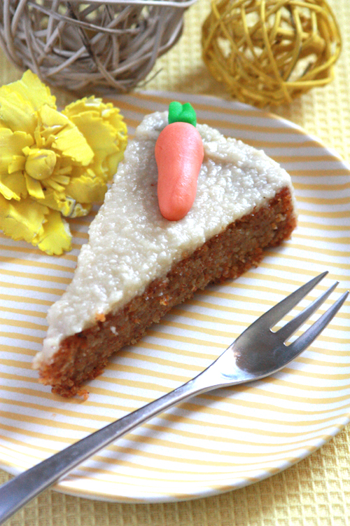 Möhrenkuchen vegan und glutenfrei 2
