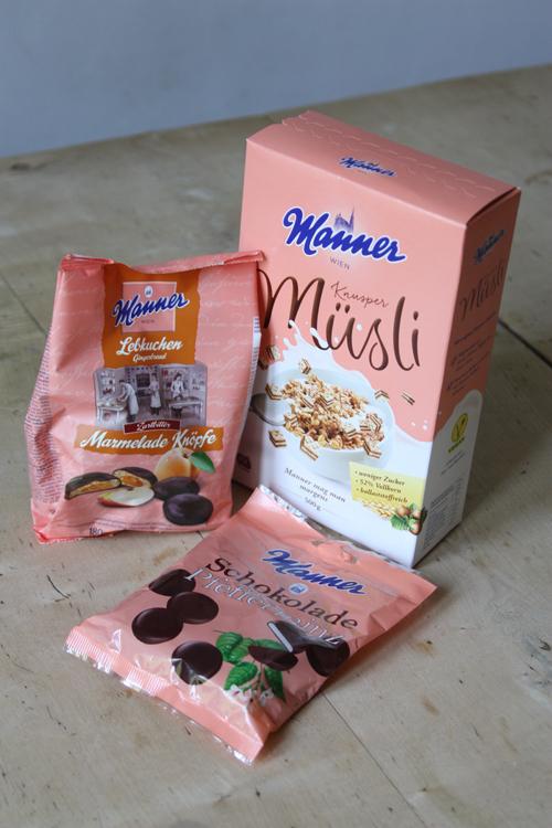 Mein Einkauf im Mannerstore in Wien - die Produkte gibt es leider noch nicht in Deutschland