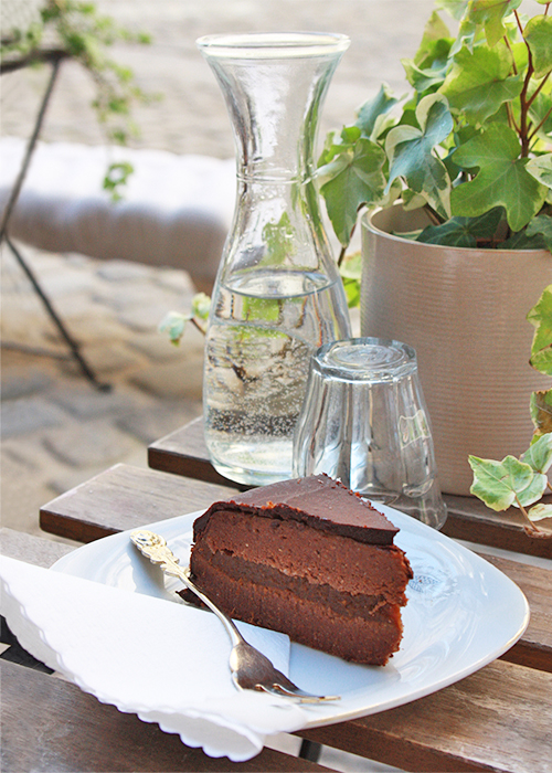 Rohvegane Sachertorte von Simply Raw Bakery